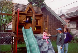 circa 2000 danny and Marcye install Wisconsin
