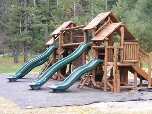 West Virginia 100 Acre Wood Playground by Bears Playgrounds