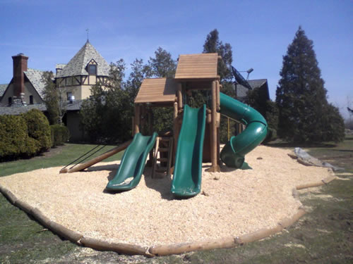 Ponderosa  Commercial Wood Playground