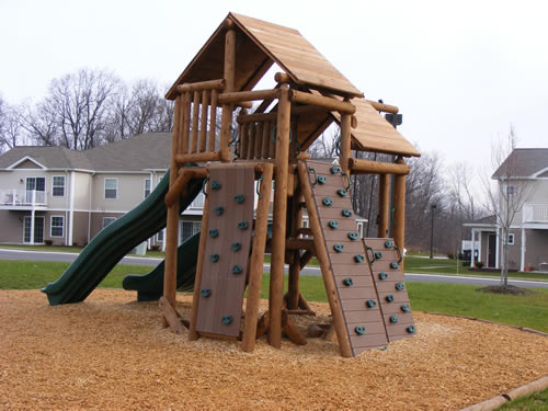 Canandaigua, NY HOA Ponderosa Playground by Bears Playgrounds