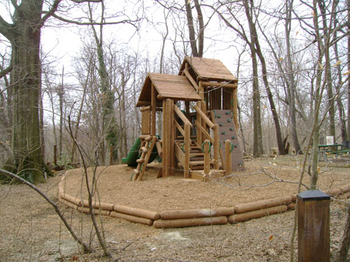 Potomac Overlook Ponderosa by Bears Playgrounds