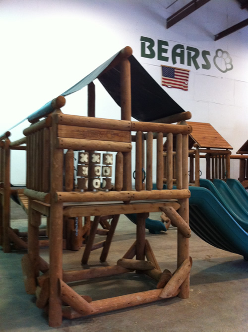 Bears Playgrounds Proudest Monkey Tree Fort Village, The Club House, Uxbridge, Ontario Canada 1