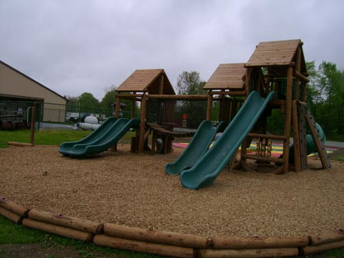Brookdale Family Campground playground by Bears Playgrounds