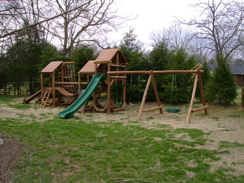 Tenessee Swiss Playground by Bears Playgrounds